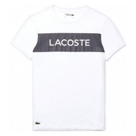 Lacoste MENS T-SHIRT biela - Pánske tričko