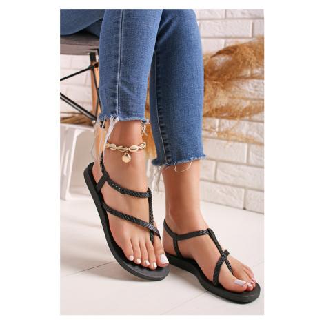 Čierne gumené sandále Class Wish Ipanema