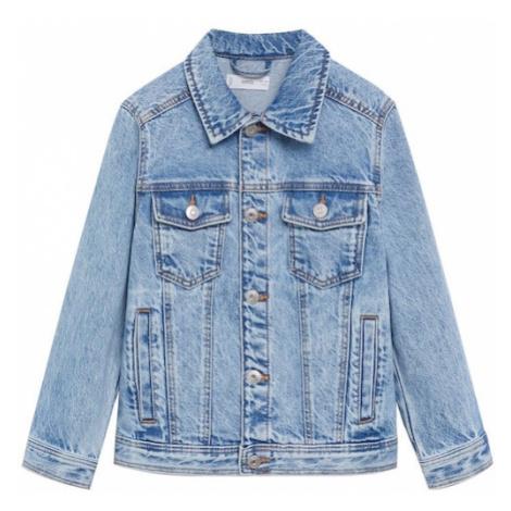 MANGO KIDS Prechodná bunda 'John'  modrá denim