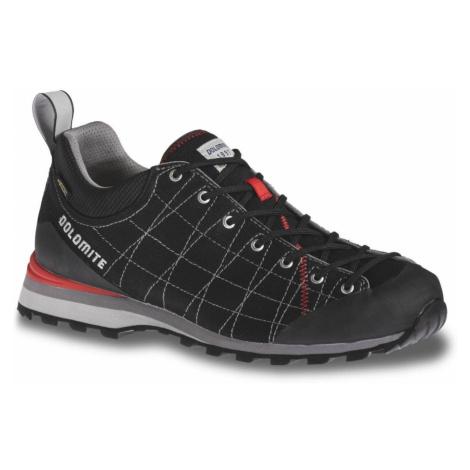 Turistické topánky DOLOMITE Diagonal Lite Black Čierna