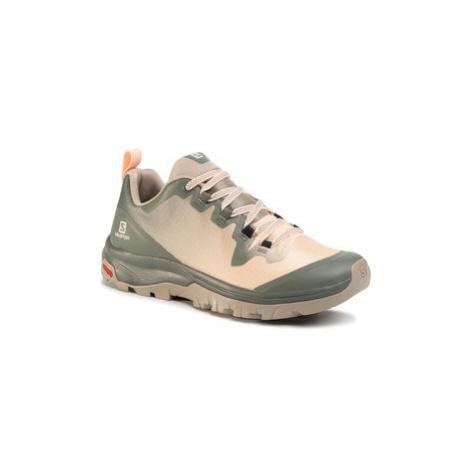Salomon Trekingová obuv Vaya 410411 20 V0 Zelená
