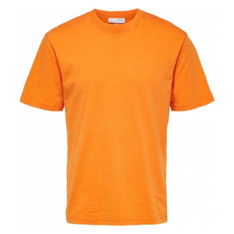 SELECTED HOMME Tričko  oranžová