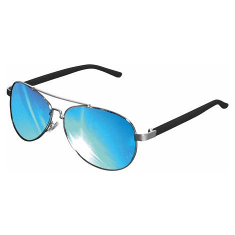 Unisex slnečné okuliare MSTRDS Sunglasses Mumbo Mirror silver/blue Pohlavie: pánske,dámske