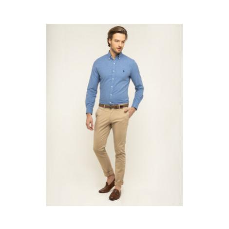 Polo Ralph Lauren Košeľa 710784334 Modrá Slim Fit