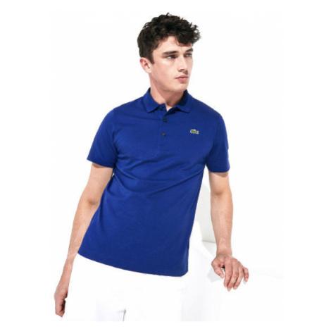 Lacoste L1230-S2P Men s S/S polo modrá - Pánske polo tričko