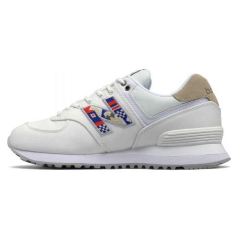 New Balance WL574SOD biela - Dámska obuv na voľný čas