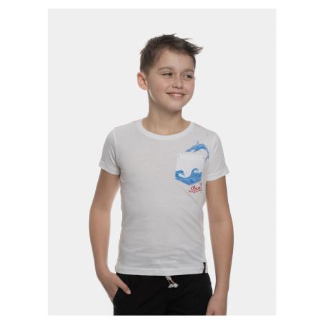 Biele tričko s vreckom SAM 73