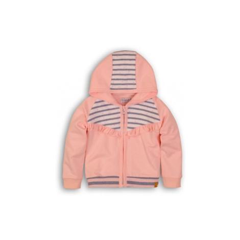 DIRKJE Mikina na zips s kapucňou C-SO SOFT WHO RUN THE WORLD 74 Pink