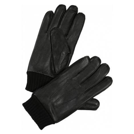 Samsoe Samsoe Prstové rukavice 'Hackney'  čierna