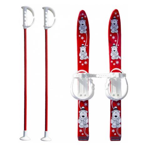 Baby Ski 40 cm - detské plastové lyže - červené