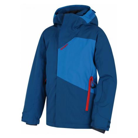 Husky Zort Kids tm.modrá, 140-Detská ski bunda