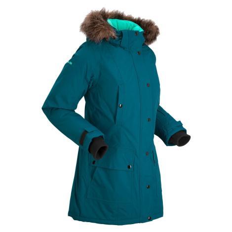Funkčná outdoorová dlhá bunda s kapucňou bonprix