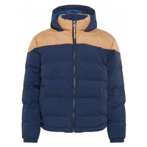 TIMBERLAND Zimná bunda  béžová / námornícka modrá