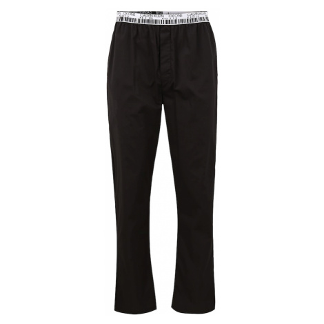 Calvin Klein Underwear Pyžamové nohavice  čierna / biela