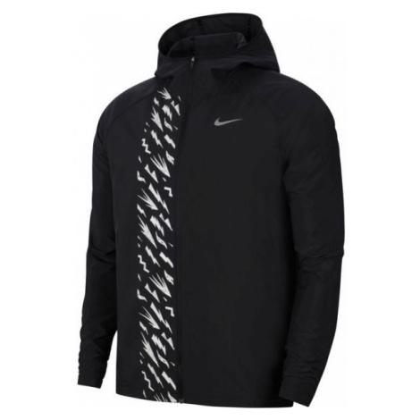 Nike ESSNTL JKT WR PO GX M čierna - Pánska mikina