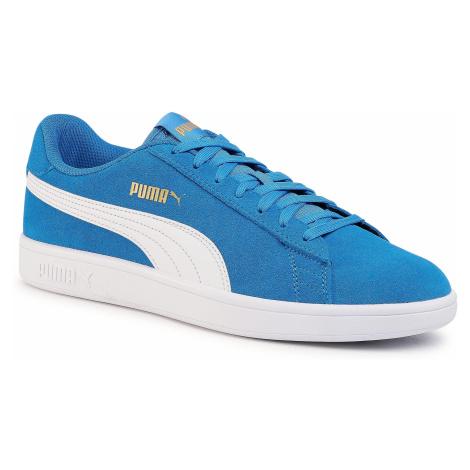 Sneakersy PUMA - Smash V2 364989 40 Palace Blue/White/Team Gold