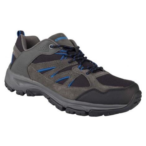 Crossroad DAFOE šedá - Pánska treková obuv