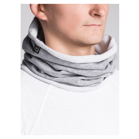 Ombre Clothing Men's snood A063 Grey
