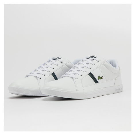LACOSTE Europa Leather white / dk green