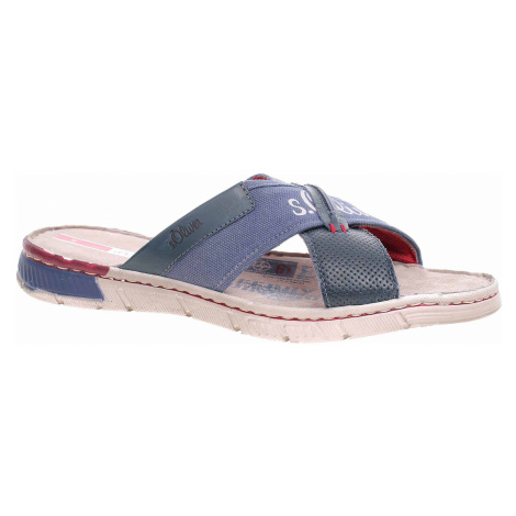 Pánské pantofle s.Oliver 5-17201-22 navy 5-5-17201-22 805