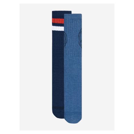 Ponožky 2 páry Converse Modrá