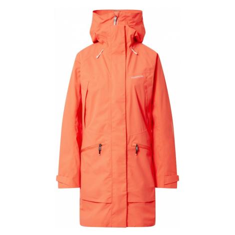 Didriksons Športová bunda  oranžovo červená