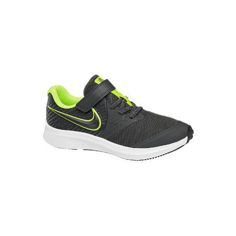 Sivé tenisky na suchý zips Nike Star Runner 2