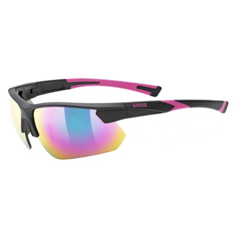 Cyklistické Okuliare Uvex Sportstyle 221 Čierno-Ružové