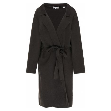 Usha Pletený kabát  čierna