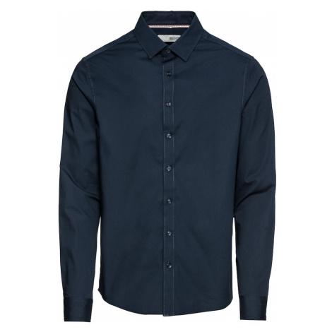 !Solid Košeľa 'Shirt - Tyler LS'  tmavomodrá