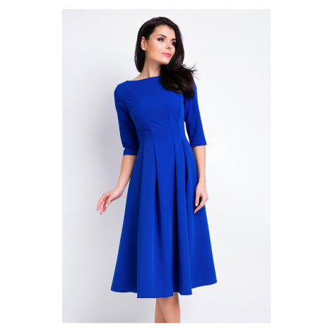 Modré šaty A159 Awama