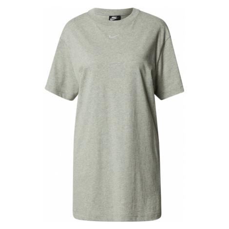 Nike Sportswear Šaty 'Essential'  sivá