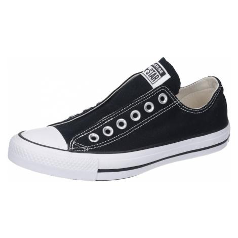 CONVERSE Nízke tenisky  biela / čierna
