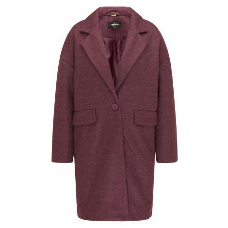 usha BLACK LABEL Prechodný kabát  červeno-fialová