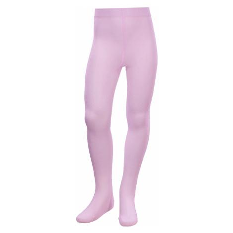 Ružové dievčenské pančucháče