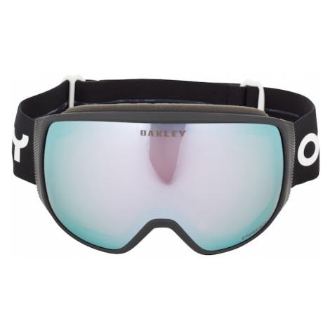 OAKLEY Športové okuliare 'Flight Tracker'  čierna / svetlomodrá / biela