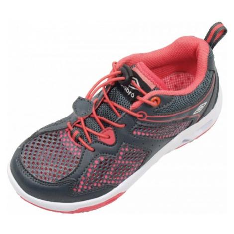 Umbro SJUR sivá - Detská vychádzková obuv