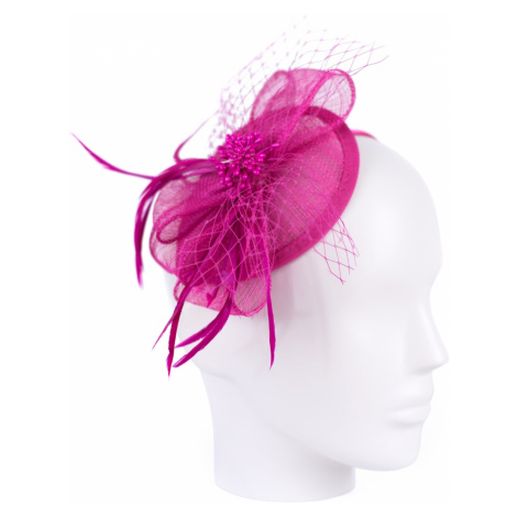 Art Of Polo Woman's Fascinator cz19587 Fuchsia