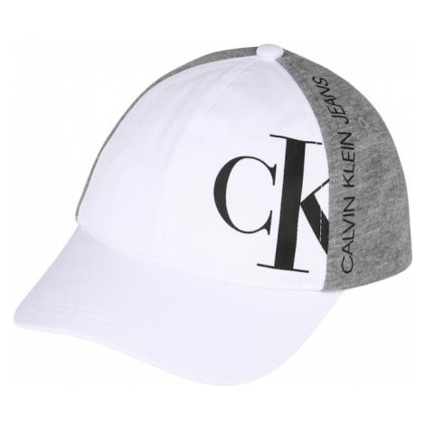 Calvin Klein Jeans Čiapky  biela / sivá melírovaná / čierna