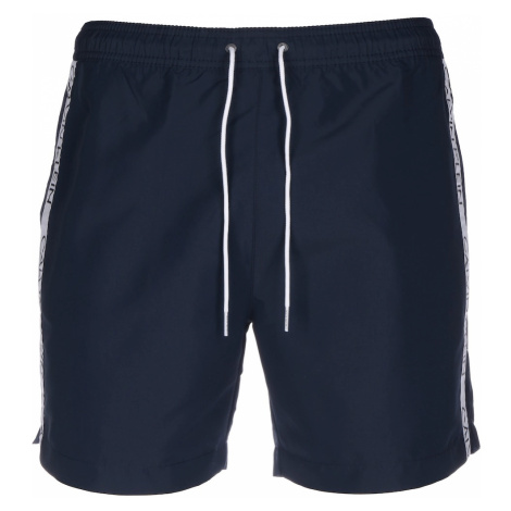Calvin Klein Swimwear Plavky  modrosivá / biela