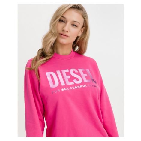 Diesel F-Ang Mikina Ružová
