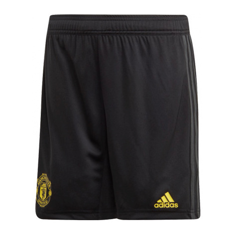 Detské Tréningové Šortky Adidas Manchester United Fc Čierne
