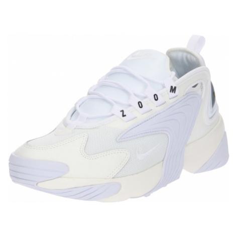 Nike Sportswear Nízke tenisky 'Zoom 2K'  biela / šedobiela