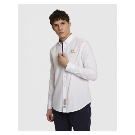 Košeľa La Martina Man L/S Shirt Light Cotton Twi