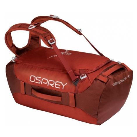 Osprey TRANSPORTER 40 červená - Cestovná taška