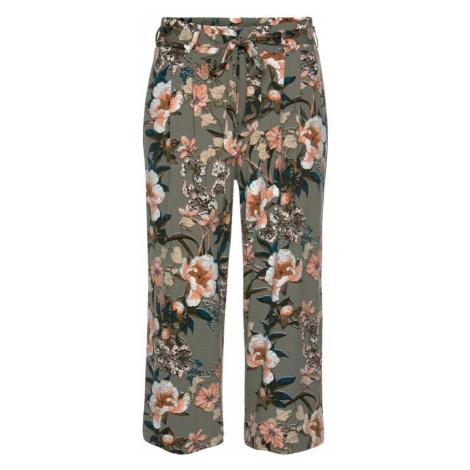 LASCANA Nohavice  kaki / zmiešané farby
