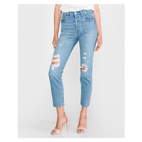 Levi's® 501® Original Cropped Patched Jeans Modrá Levi´s
