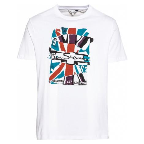 Ben Sherman Tričko  biela / zmiešané farby