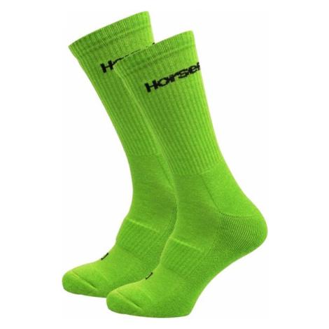 Ponožky Horsefeathers Delete Premium green
