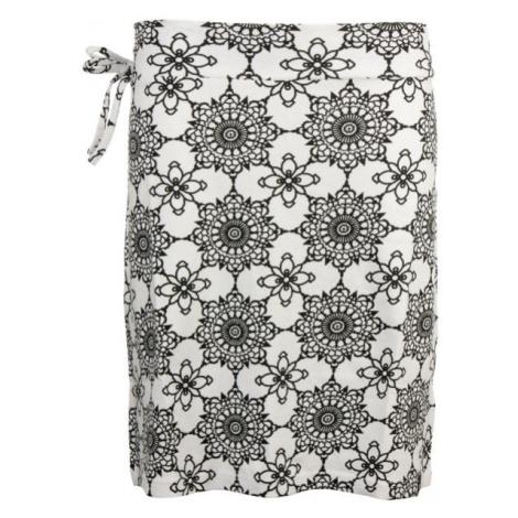ALPINE PRO JAELA biela - Dámska sukňa